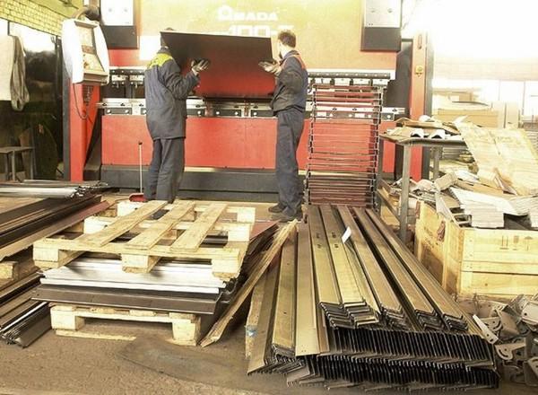 Продукция гибки металла