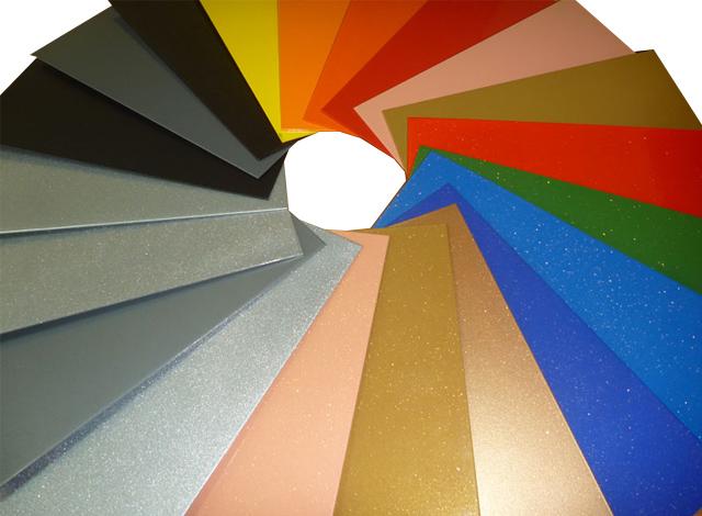 Широкая гамма окраски металла